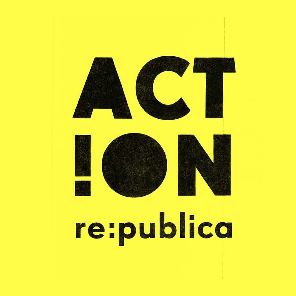 The re:publica 12 logo