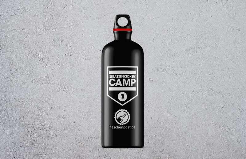 Trinkflasche - STRASSENKICKER.CAMP