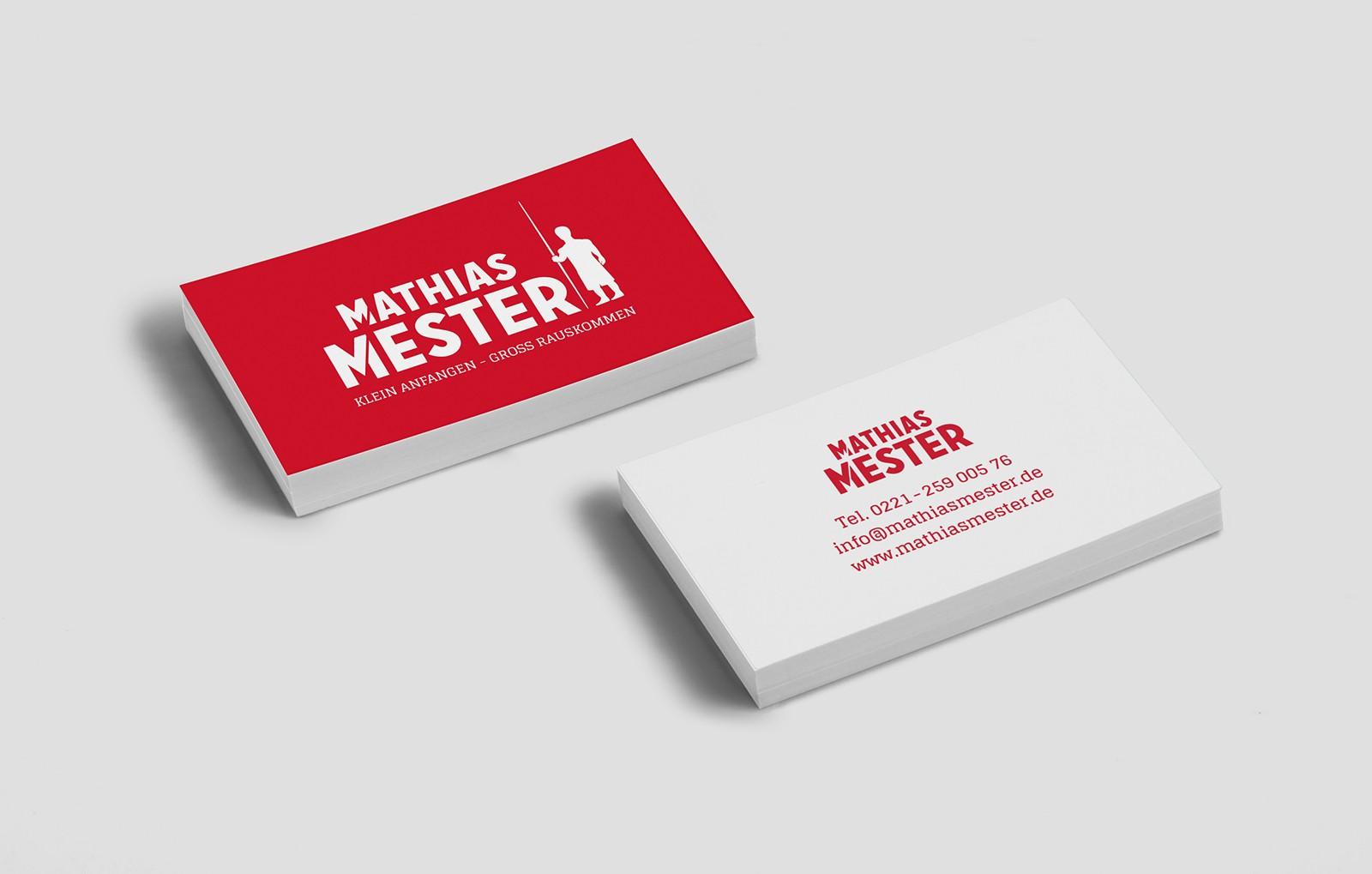 Mathias Mester Visitenkarten