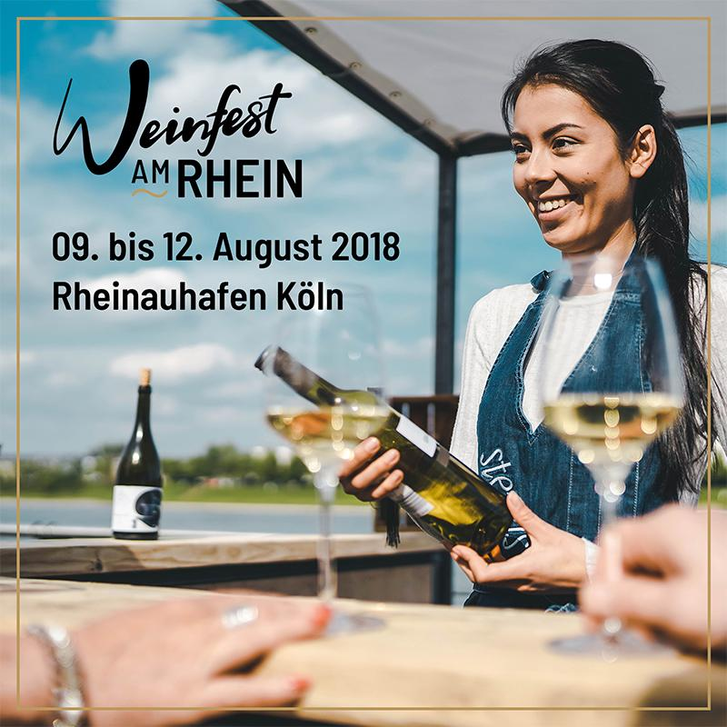 Social Media Post - Weinfest am Rhein
