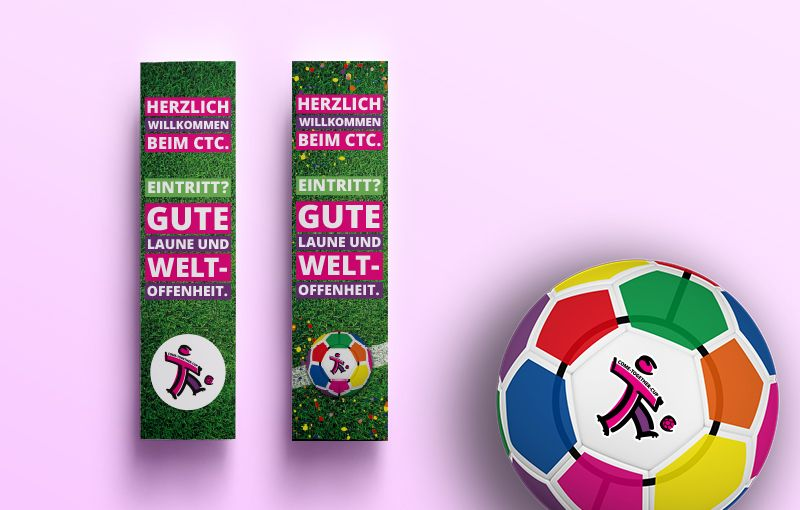 Wegeleitung - COME-TOGETHER-CUP