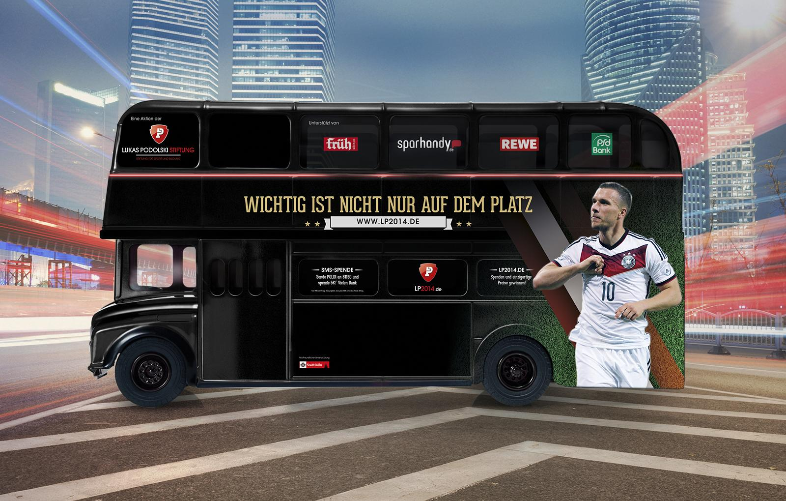 Lukas Podolski Stiftung - Bus