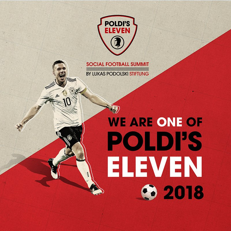 POLDI'S ELEVEN - Social Media Post We are one of Poldi's Eleven