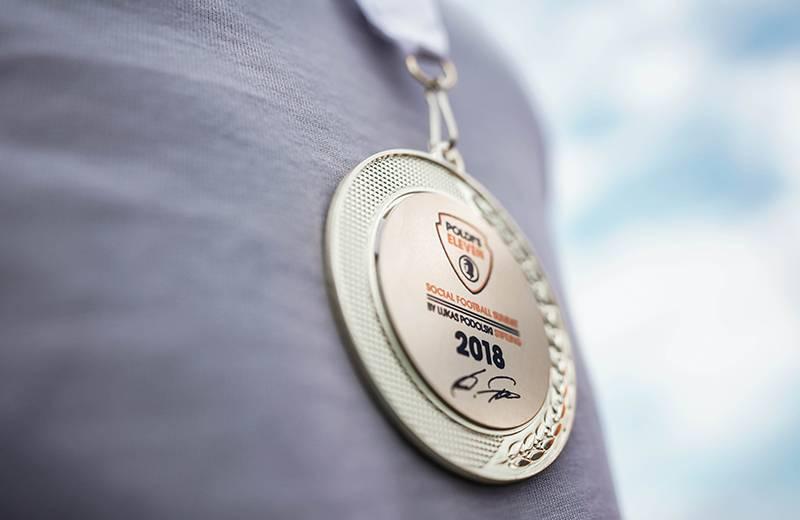 POLDI'S ELEVEN - Foto Medaille