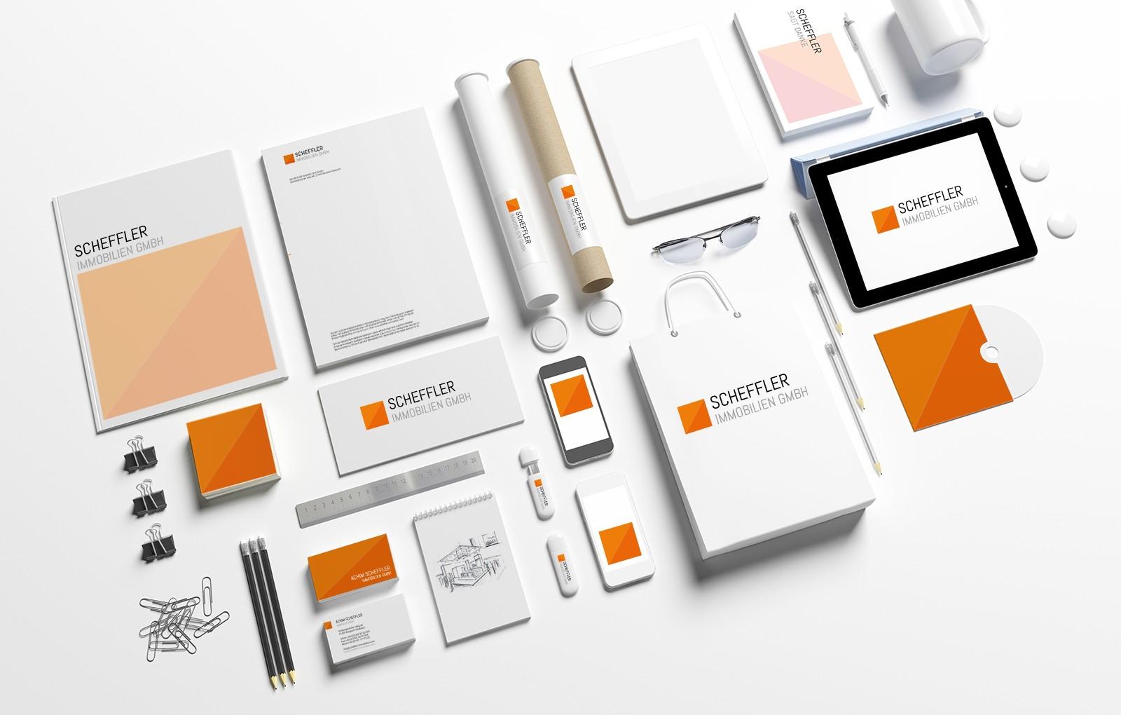 Corporate Design für Scheffler Immobilien GmbH