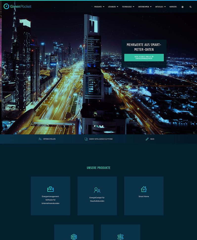 Startseite Desktop - GreenPocket