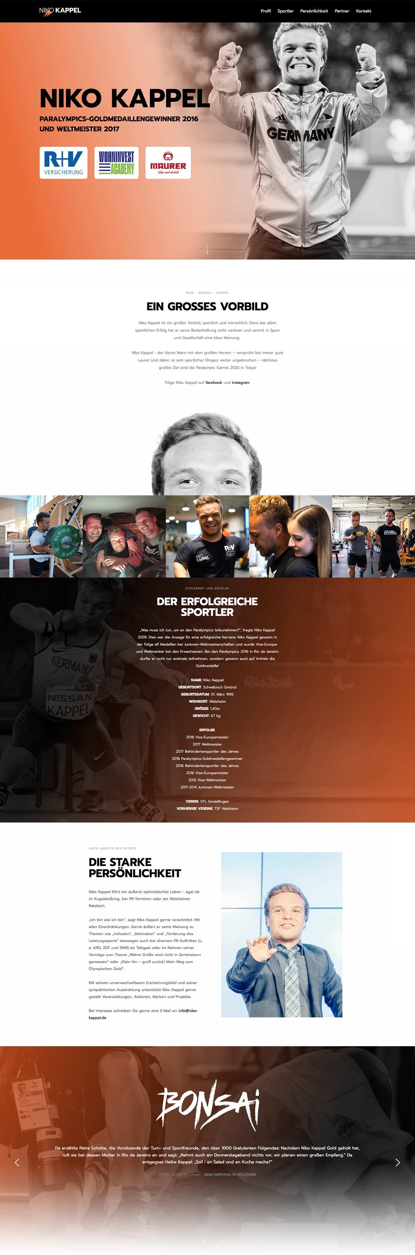 Niko Kappel - Webseite