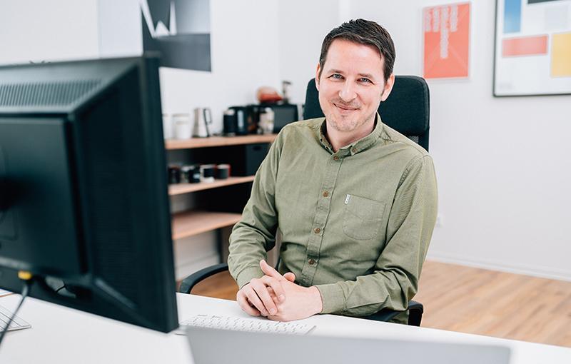 Webflow Agentur - Ansprechpartner -Malte Kriewald