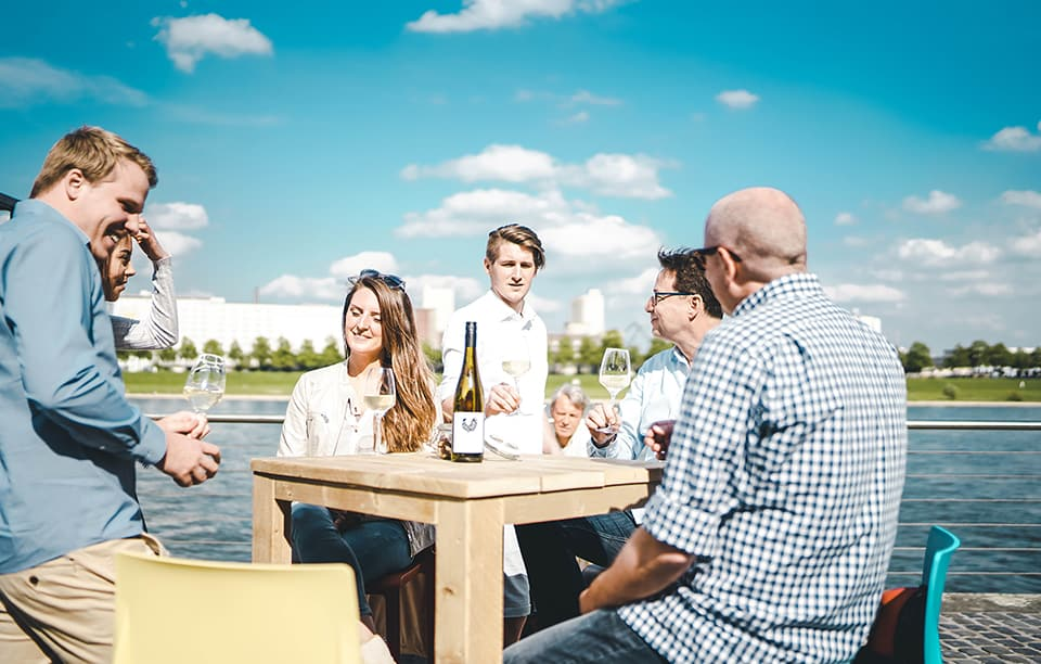 Weinfest am Rhein