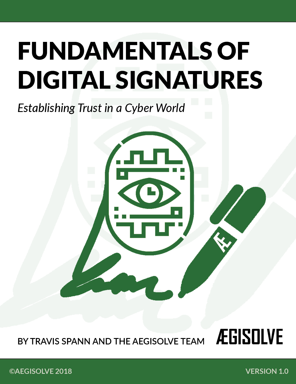 Fundamentals of Digital Signatures ebook guide