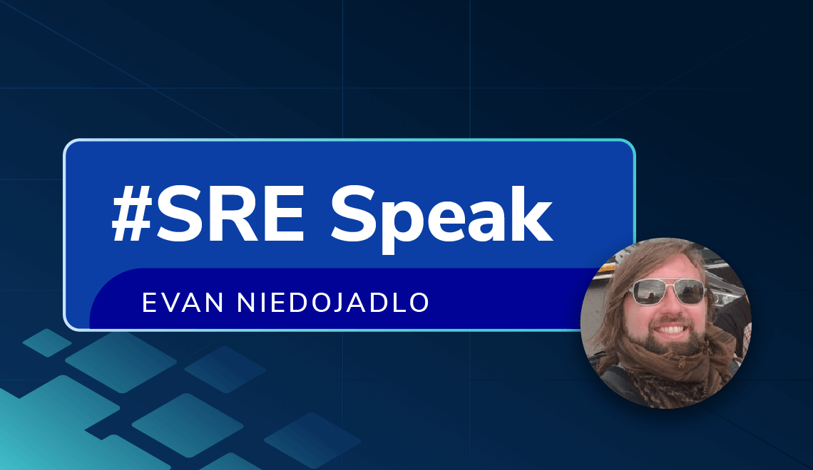 Evan Niedojadlo from Peddle shares his thoughts on being an SRE
