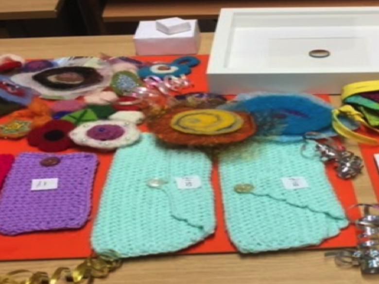 textiles & crafts class
