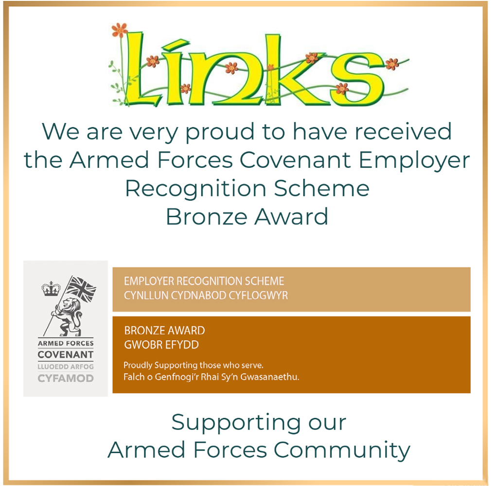 Armed Forces Covenant recognition scheme award.