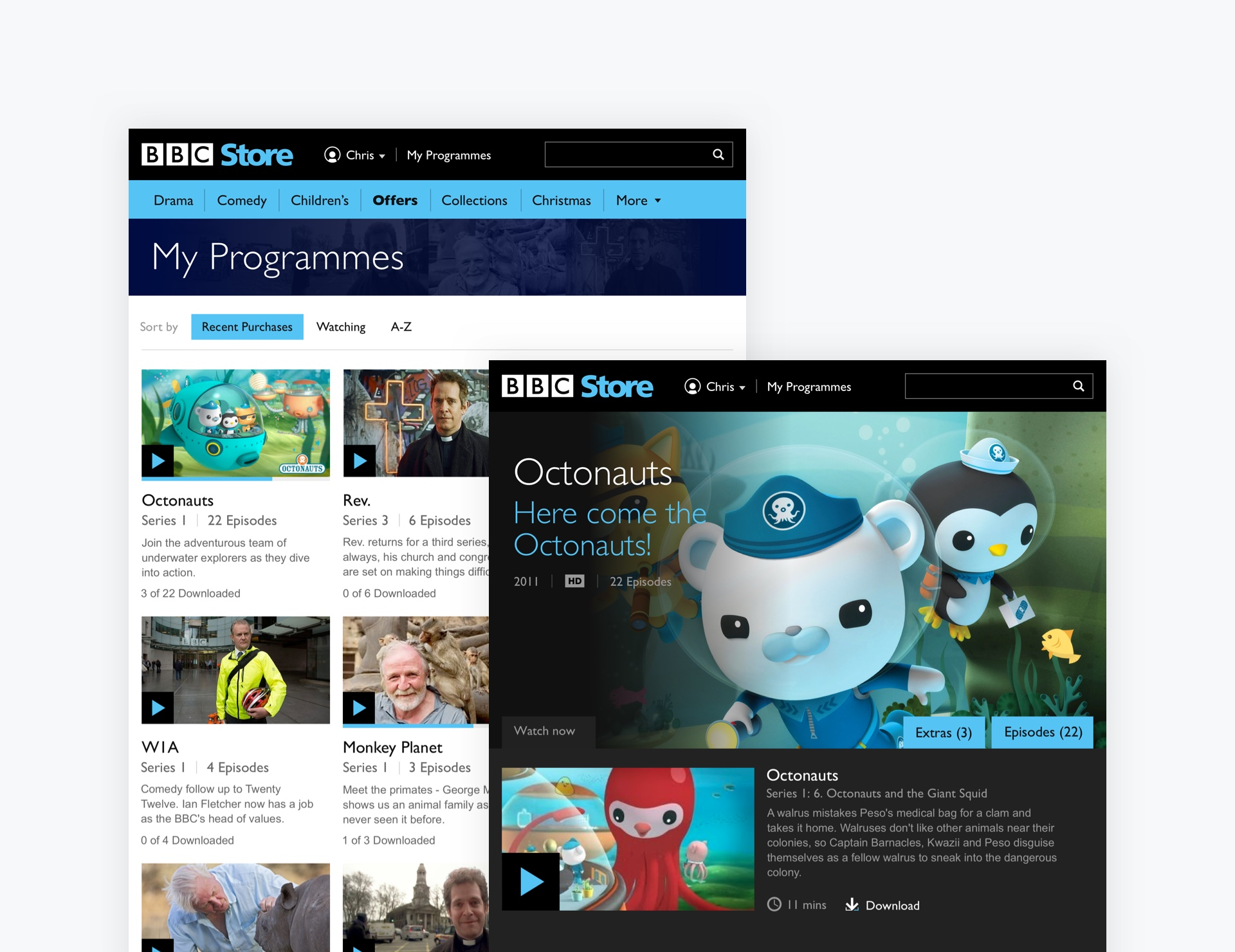 BBC Store - Sense of ownership