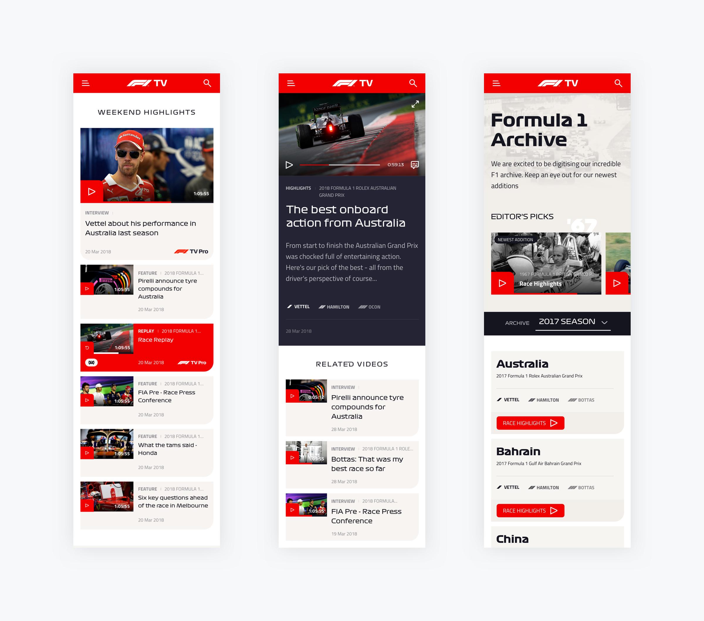 F1TV - Synchronisation