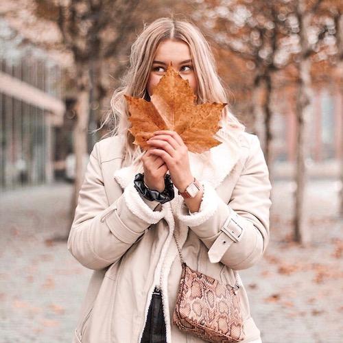 Nederlandse fashion influencer Danique van der Wel in de influencer DNA top 30 lijst