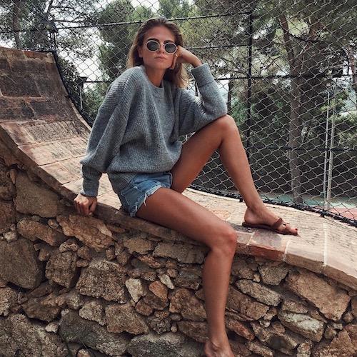 Nederlandse fashion influencer Eva Cliteur in de influencer DNA top 30 lijst