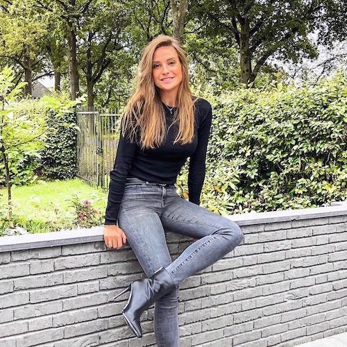 Nederlandse fashion influencer Inge Wildenberg in de influencer DNA top 30 lijst