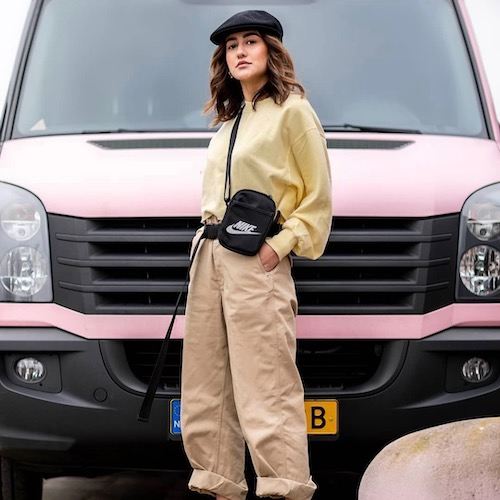 Nederlandse fashion influencer Ginney Noa in de influencer DNA top 30 lijst