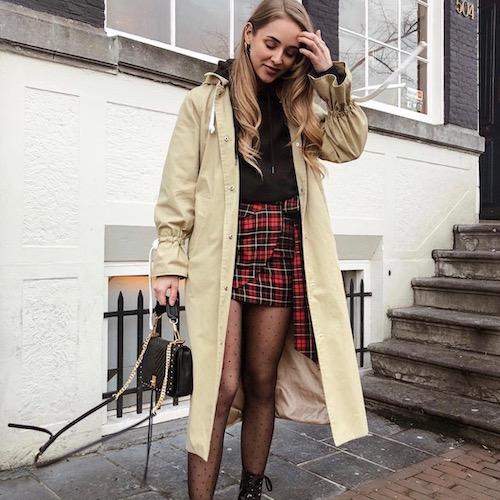Nederlandse fashion influencer Jamie Schnellbacher in de influencer DNA top 30 lijst