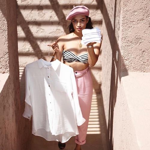 Nederlandse fashion influencer Lara Mallo in de influencer DNA top 30 lijst