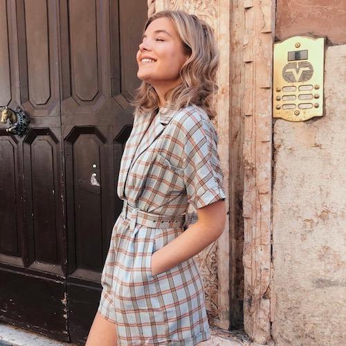 Nederlandse fashion influencer Lynn van de Vorst in de influencer DNA top 30 lijst