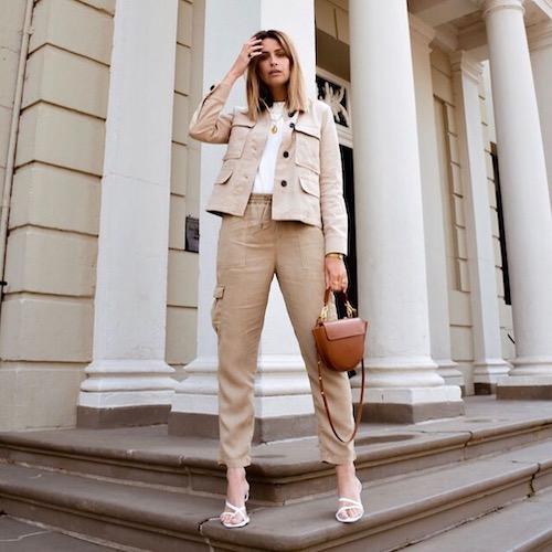 Nederlandse fashion influencer Marlien Besselink in de influencer DNA top 30 lijst