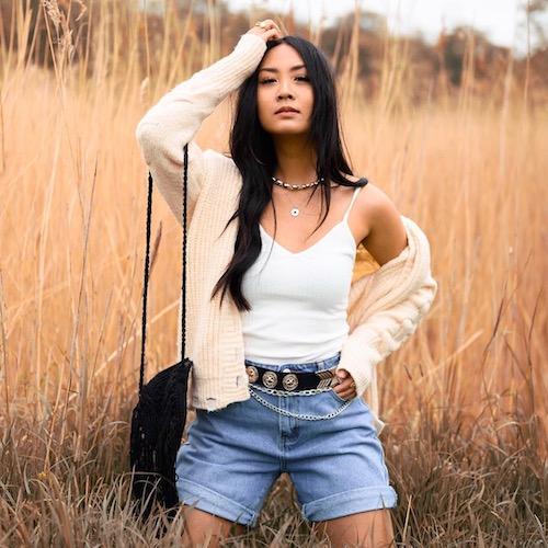 Nederlandse fashion influencer May Bui in de influencer DNA top 30 lijst