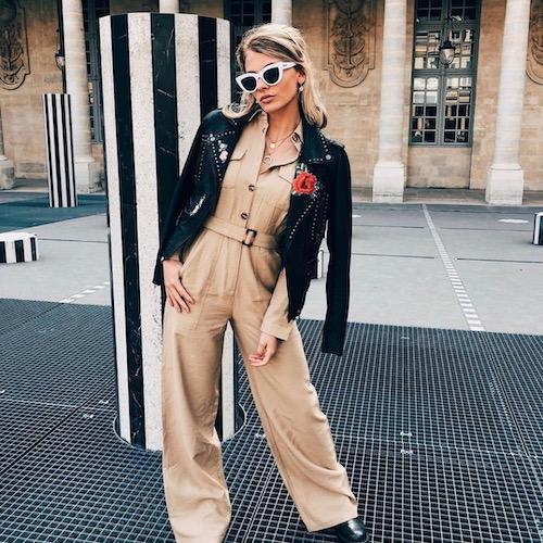 Nederlandse fashion influencer Marlou van Noesel in de influencer DNA top 30 lijst