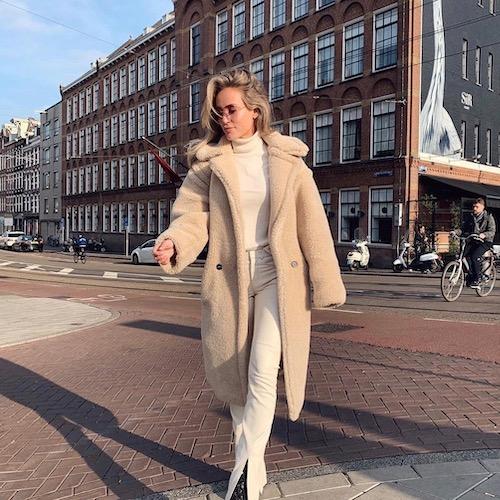 Nederlandse fashion influencer Merrith van den Bosch in de influencer DNA top 30 lijst