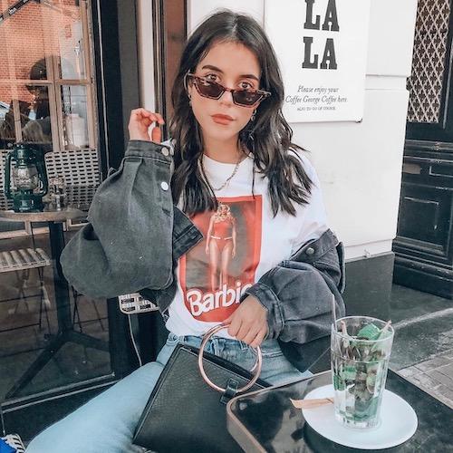 Nederlandse fashion influencer Nadia Idder in de influencer DNA top 30 lijst