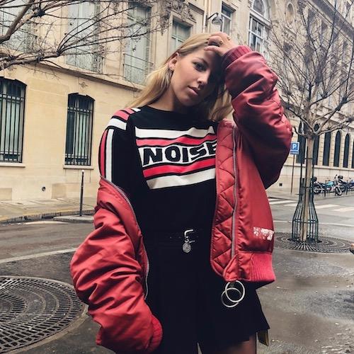 Nederlandse fashion influencer Esmée Muriël van Es in de influencer DNA top 30 lijst