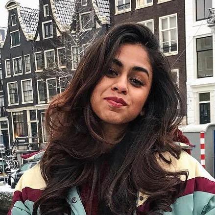 Nederlandse fashion influencer Prishella Ramawadhdoebe in de influencer DNA top 30 lijst