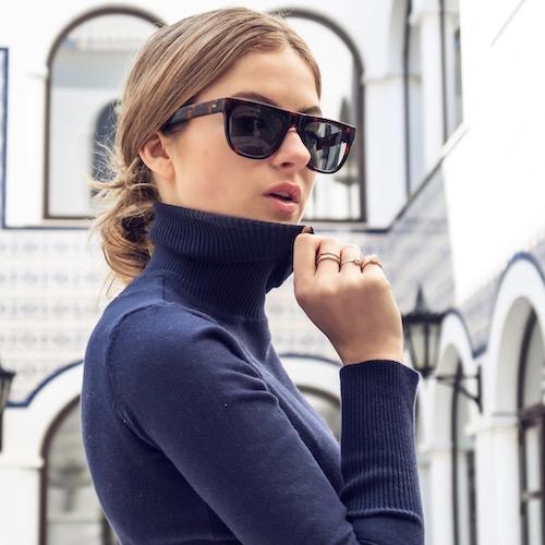 Nederlandse fashion influencer Lara Rose Roskam in de influencer DNA top 30 lijst