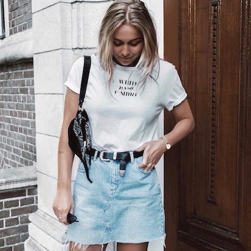 Nederlandse fashion influencer Sophie Feenstra in de influencer DNA top 30 lijst