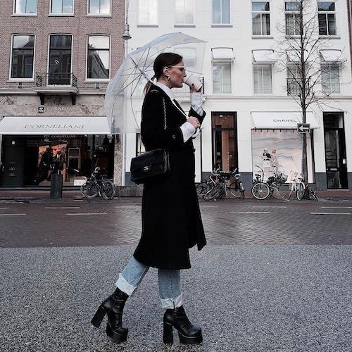 Nederlandse fashion influencer Robine Blickman in de influencer DNA top 30 lijst