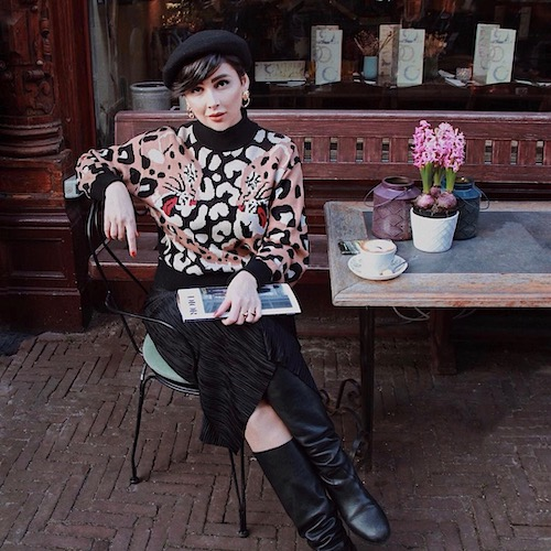 Nederlandse fashion influencer Yana Canvas in de influencer DNA top 30 lijst
