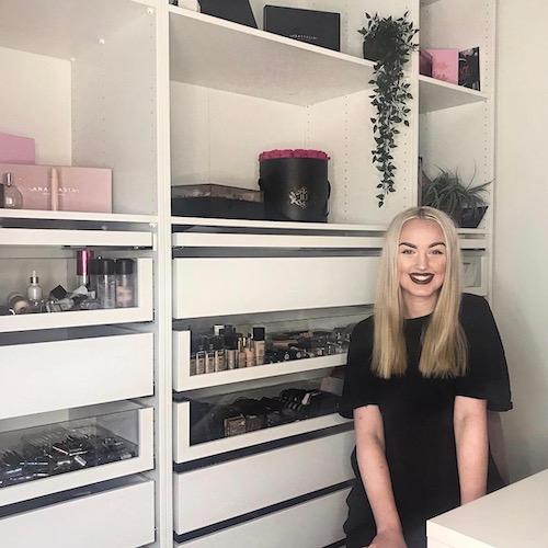 Nederlands Beauty Influencer Anna van Brecht in de influencer DNA top 30 lijst