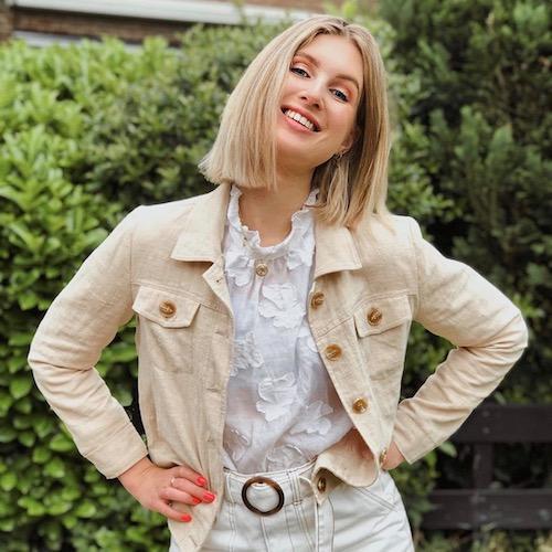 Nederlands Beauty Influencer Sarah Bon in de influencer DNA top 30 lijst
