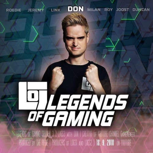 Nederlandse gaming influencer Don Plevier in de Influencer DNA top 30 lijst