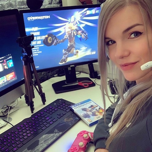 Nederlandse gaming influencer Elise Gabriel in de Influencer DNA top 30 lijst