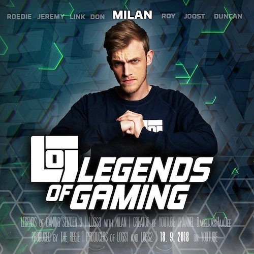 Nederlandse gaming influencer Milan Knol in de Influencer DNA top 30 lijst