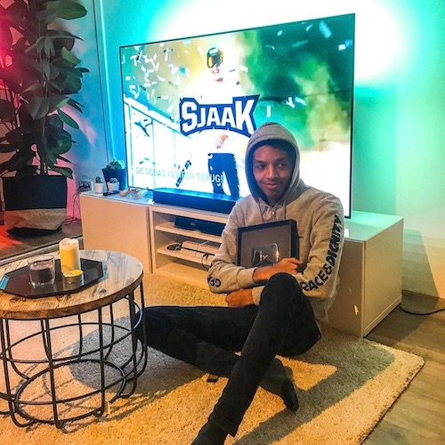 Nederlandse gaming influencer Shaquille Polak in de Influencer DNA top 30 lijst