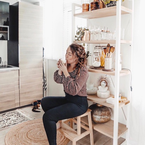 Nederlandse interieur influencer Marit Andrea in de Influencer DNA top 30 lijst