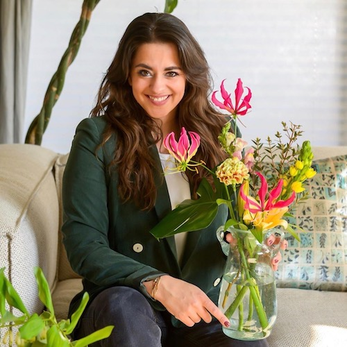 Nederlandse interieur influencer Souraya Hassan in de Influencer DNA top 30 lijst