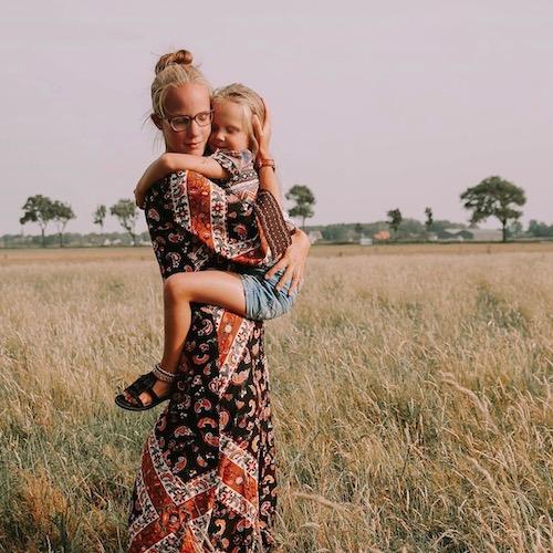 Nederlandse mommy influencer Michelle Visser in de Influencer DNA top 30 lijst