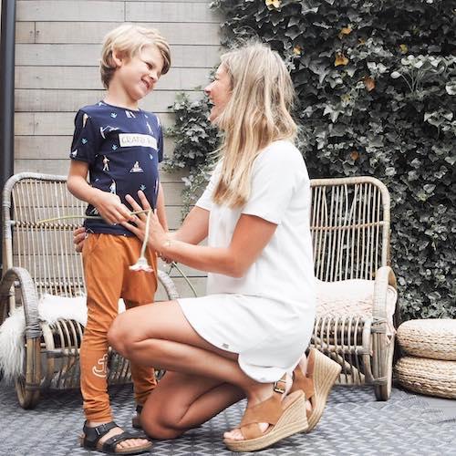 Nederlandse mommy influencer Maartje van Kelle in de Influencer DNA top 30 lijst