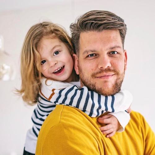 Nederlandse daddy influencer Rogier Jongedijk in de Influencer DNA top 30 lijst