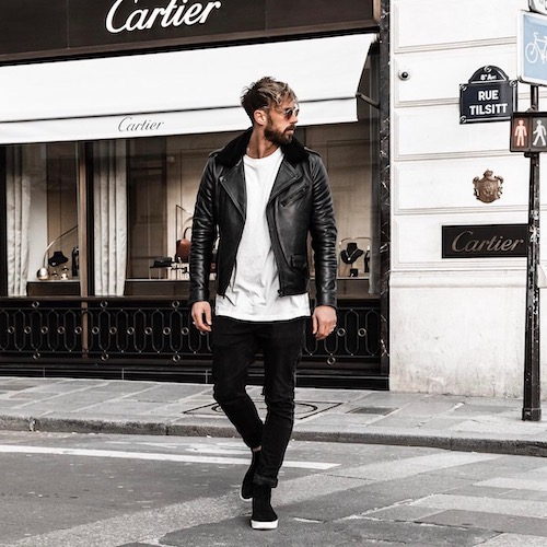 Nederlandse fashion influencer Christoffel Mesman in de influencer DNA top 30 lijst