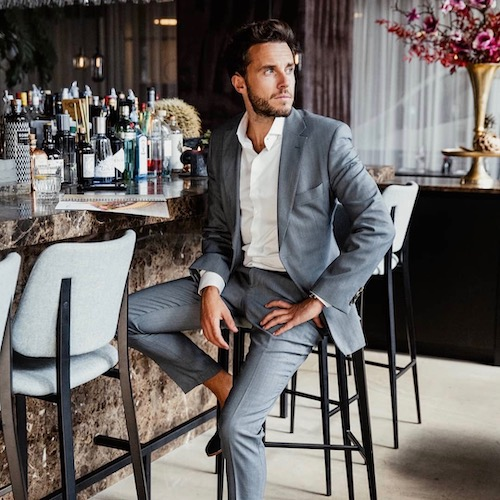 Nederlandse fashion influencer Boris Bouten in de influencer DNA top 30 lijst